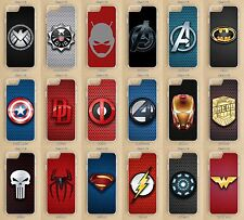 iPhone, iPod Touch  5, 5S, SE, 6, 6S, 7, Plus Marvel / DC Heroes Phone Case