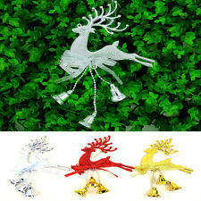 Cute Fashion Christmas Tree Ornament Deer Chital Hanging Party Decorations Xmas