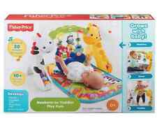 Fisher-Price Newborn-to-Toddler Play Mats Gym: 10 activities and toys