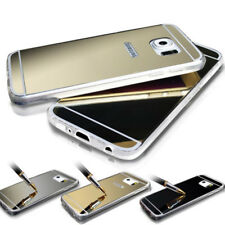 Ultra thin Soft Mirror Metal View Phone Case Cover for Samsung S8 S8+ S7 S7 edge