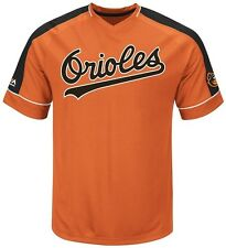 Baltimore Orioles MLB Mens Cooperstown Majestic Vintage Hit Jersey Big Sizes