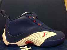 New REEBOK ANSWER 4 USA GS ROYAL Blue White Red iv question iverson sz 5 5.5 6