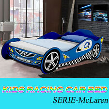 Kids Sports Racing Car Bed Children Bedroom Furniture  Bed Single Size