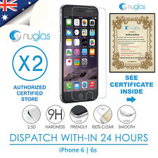 GENUINE NUGLAS 9H Tempered Glass Screen Protector iPhone 6, iphone 6s