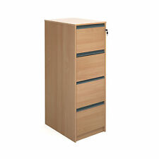 Office Furniture - 4 Drawer Filing Cabinet - Height 1353mm