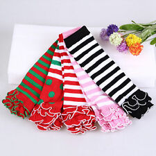 Fashion Children Baby Girls Soft Cotton Leg Warmers Kneepad Tight Stocking Socks