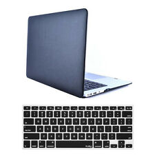 """Laptop Rubberized Hardcase Shell+Keyboard Cover For Mac Macbook Retina 12"""" A153"""