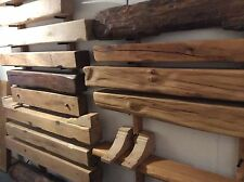 OAK BEAMS/FLOATING/ RECLAIMED/FIRE PLACE MANTLE/WOOD BURNER