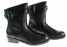 Harley-Davidson Womens Leather Motorcycle Boots D85274 Valeria Black
