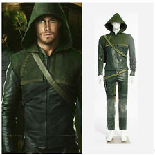 A Green Arrow Oliver final fantasy anime Cosplay Costume men theater reenactment