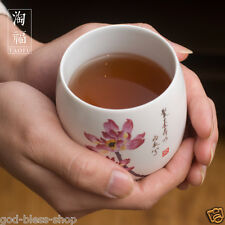 Porcelain tea cup 180ml Japanese style cup kung fu tea cups big cup of tea China