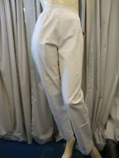 New Plus size Women fashion Cafe White Pull on Pants
