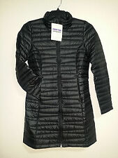 $299 Womens XS S Patagonia Fiona Parka Puffer 28358 600-Fill-Power Down Black
