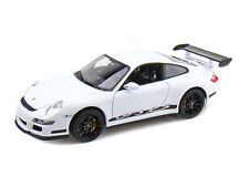 WELLY 18015 PORSCHE 911 997 GT3 RS COUPE model cars green grey orange white 1:18