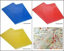 Transparent Colour A4 Sheet Self Adhesive Sticky Back Vinyl Craft Sticker