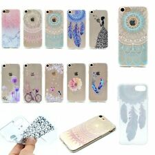 ULTRA THIN FASHION Soft Rubber Back TPU GEL Case Cover For iPhone 5s 6s 7 7PLUS