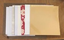NEW RETIRED Stampin Up 12x12 Designer Specialty Paper  DSP