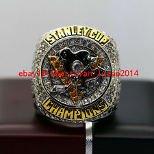 On Sale 2016 Pittsburgh Penguins Stanley Cup Championship Copper Ring 8-14Size