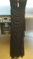 Blondie Nites by Stacy Sklar black gown size 1 prom wedding special occassion