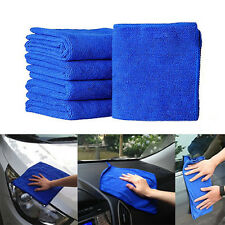 5 Pcs Professional Absorbent Wash Cloth Car Auto Care Microfiber Cleaning Towels
