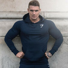New Mens Gym Training Long Sleeve Sport Hoodie Casual Pullover Sweatshirt Jumper