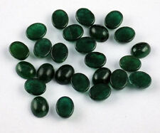 Beautiful 25 Pcs Lot Rare Green Aventurine Cabochon Oval Smooth Loose Gemstone