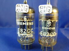 Matched Pair E82CC/ECC802S Siemens # TriMica # NOS-near-NOS  (9615)