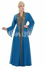 EXCLUSIVE ARRIVAL Long Floor Touch MOROCCAN KAFTAN DESIGN FOR WOMEN DRESS 5876