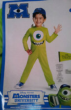 Monsters-University-Sulley-Mike-Wazowski-Unisex-3T-4T-4-6-Costume-Disguise-Poly