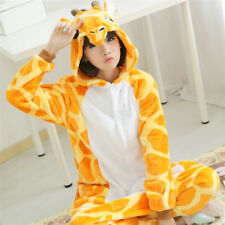 Hot Unisex Adult Onesie Kigurumi Pajamas Anime Cosplay Costume Dress @ Giraffe