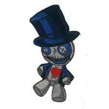 "5"" High Iron-On Voodoo Doll Patch Voo Doo"