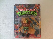 Teenage Mutant Ninja Turtles General Traag TMNT Playmates 1989 19-Back Unpunched