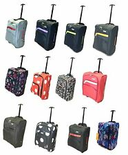 Cabin Hand Luggage Suitcase Ryanair Wheeled Trolley Travel Case Bag 50x40x20