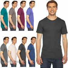 American Apparel Tri Blend T Shirt Vintage Style Track Tee Shirt 9 Colors -TR401