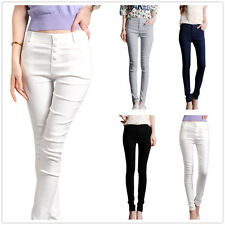 New Womens Ladies Skinny Slim Fit Leggings Jeggings Stretch Jeans Pants Trousers