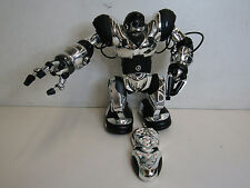 WowWee Robosapient Robot Silver With Remote Tested Works