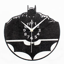 Batman Wall Clock Black Sand Clocks Retro Creative Time Home Decor 11.8""