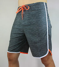 Mens Hot sell 4way stretchy boardshorts swim board shorts sz 38 36 34 32 30