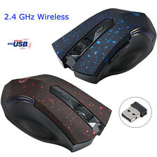 Wireless 2.4 GHz Optical USB Mouse Mini PC Laptop Notebook Gaming Mouse Mice