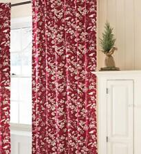 """Plow & Hearth® Floral Rod-Pocket Insulated Curtain Panel  84""""W x 84""""L"""