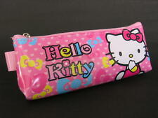 D33 HELLO KITTY COSMETIC MAKE UP POUCH PEN PENCIL HAND BAG STATIONERY CASE