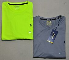 NWT MENS POLO RALPH LAUREN SPORT PERFORMANCE ACTIVE SS T SHIRT SZ M-XXL 2 COLORS