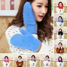 Women Ladies Vogue Thicken Thermal Knit Wool Warm Gloves Ladies Winter Mittens