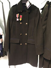 ZARA WOMAN MILITARY STYLE COAT DARK KHAKI XS-L REF. 1255/252