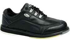 Elite Platinum Black Right-Hand Bowling Shoes - Men - 2-Year Warranty