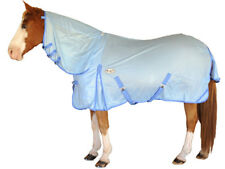 CARIBU Euro-Mesh 270gsm Fly Air Mesh Neck Combo Horse Rug, Cool & Durable. BLUE