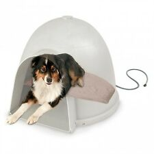 K&H Igloo Style Outdoor Dog Lectro Soft Heated Bed KH1033  KH1043   KH1053