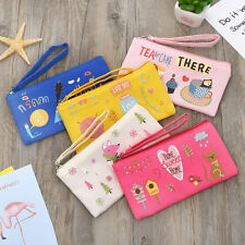 Pencil Pen Bag Wallet Purse Cartoon Makeup Pouch Pocket Brush Holder Phone Bag g