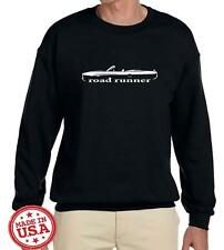 1970 Plymouth Road Runner Convertible Classic Outline Design Sweatshirt NEW