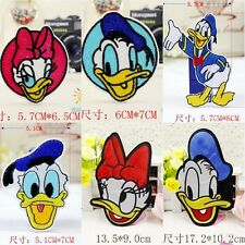 10pcs/set Cute Ducks Embroidered Applique Sew Iron on Patches DIY